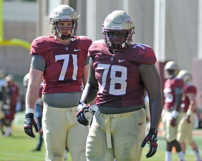 san francisco 3584f cea20 Warchant - Florida State spring football practice Photo ...