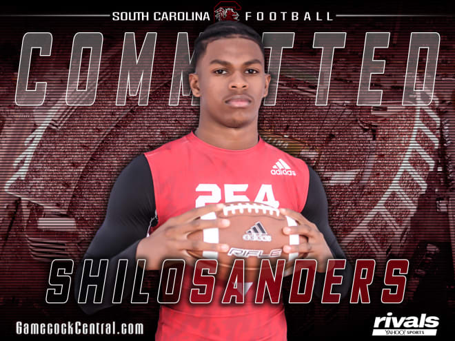 Shilo Sanders, Deion's son, commits to SC
