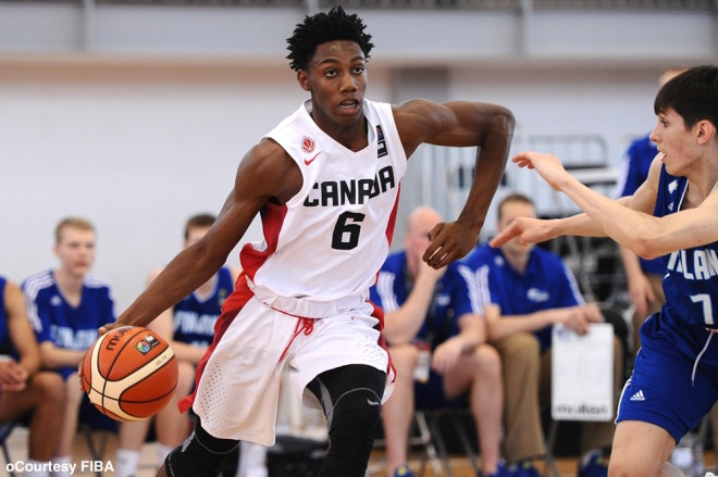Canadian RJ Barrett announces top five schools