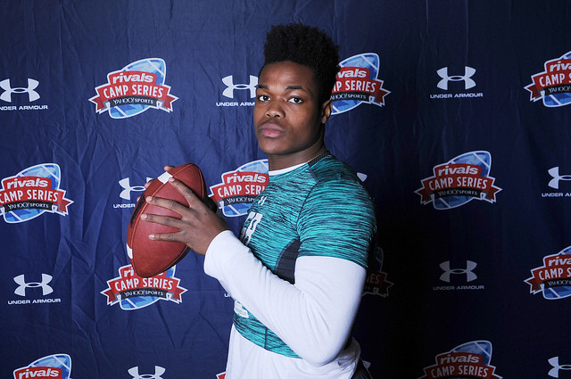 New York dual-threat QB Ori Jean-Charles visited Ohio State this weekend.