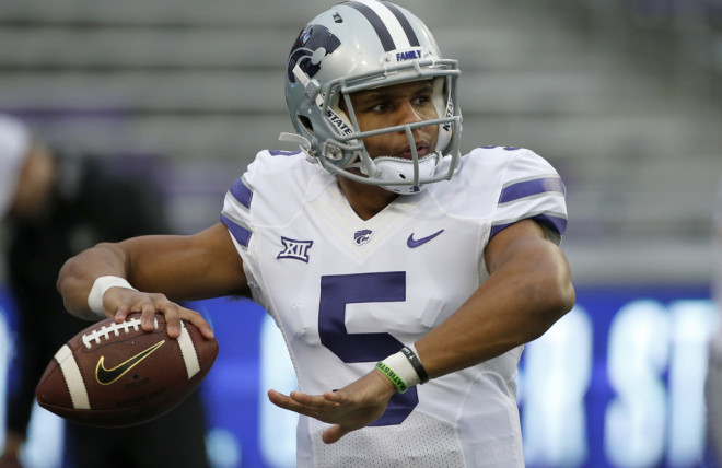 Third-string QB helps K-State beat Kansas