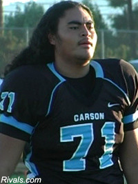 Wade Yandall 2010 Offensive Tackle Rivals