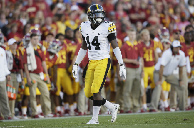 Iowa's Desmond King was the top cornerback in the country in 2015, and he returns to lead the Hawkeyes once again for his senior season.