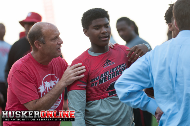 Mike Riley & Keyshawn Johnson Jr.