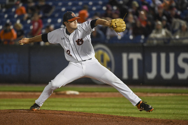 Auburn defeats Ole Miss, 5-4, in SEC Tournament opener