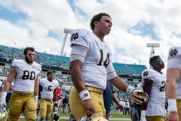 Irish's DeShone Kizer: I can be the 'greatest quarterback to ever play'