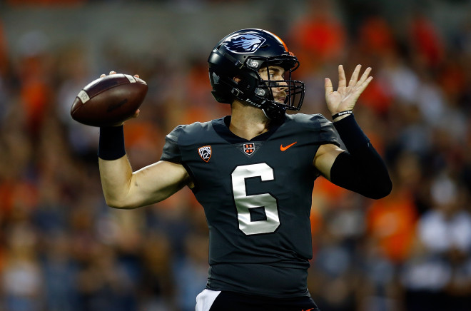 Oregon State picked apart by Washington State QB