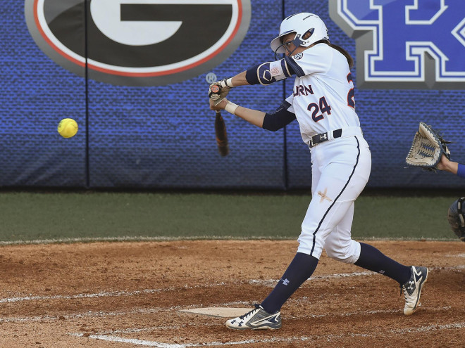 SEC Tournament softball semifinals for Alabama, Auburn postponed until Saturday