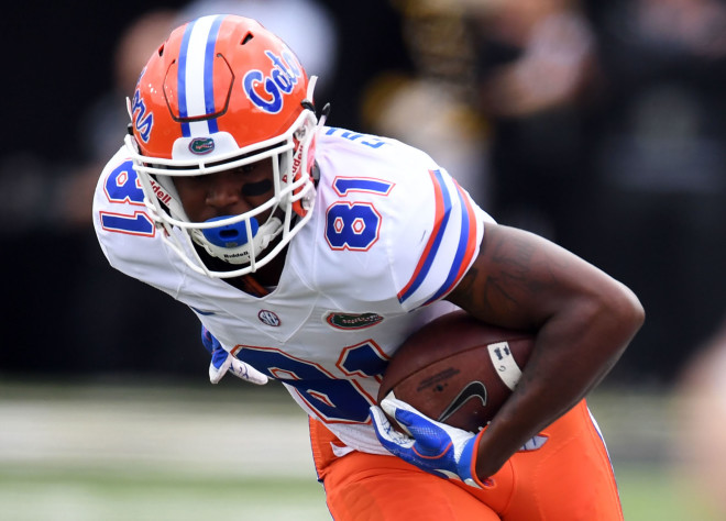 Florida WR Antonio Callaway reaches plea deal stemming from May drug incident