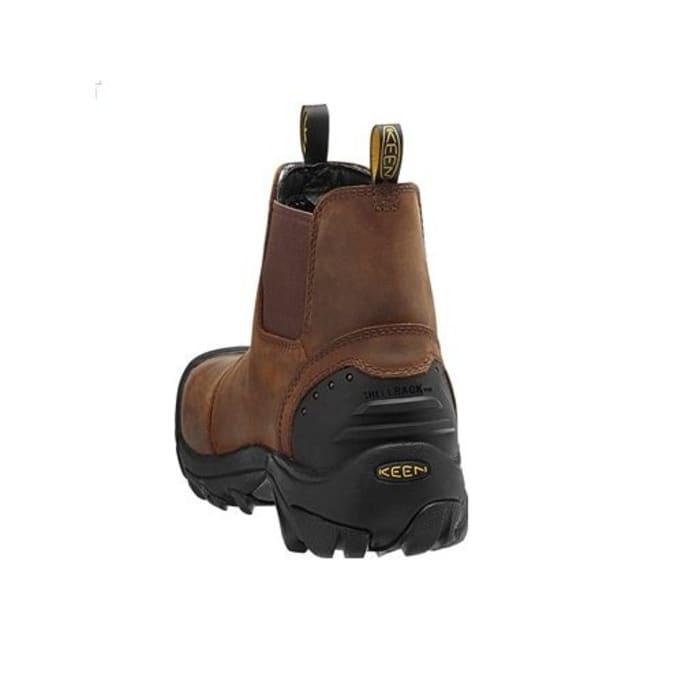c5cc07dc36 KEEN Utility Men's Detroit Slip-On Boots - Cascade Brown 1013264