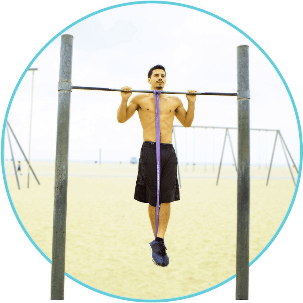 Power Stretching Crossfit Resistance Band Pullup Assisted Pull Up Bands