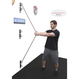 Hammer Head Anchor Gym Core Configuration
