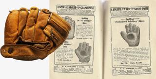 First Baseball Glove