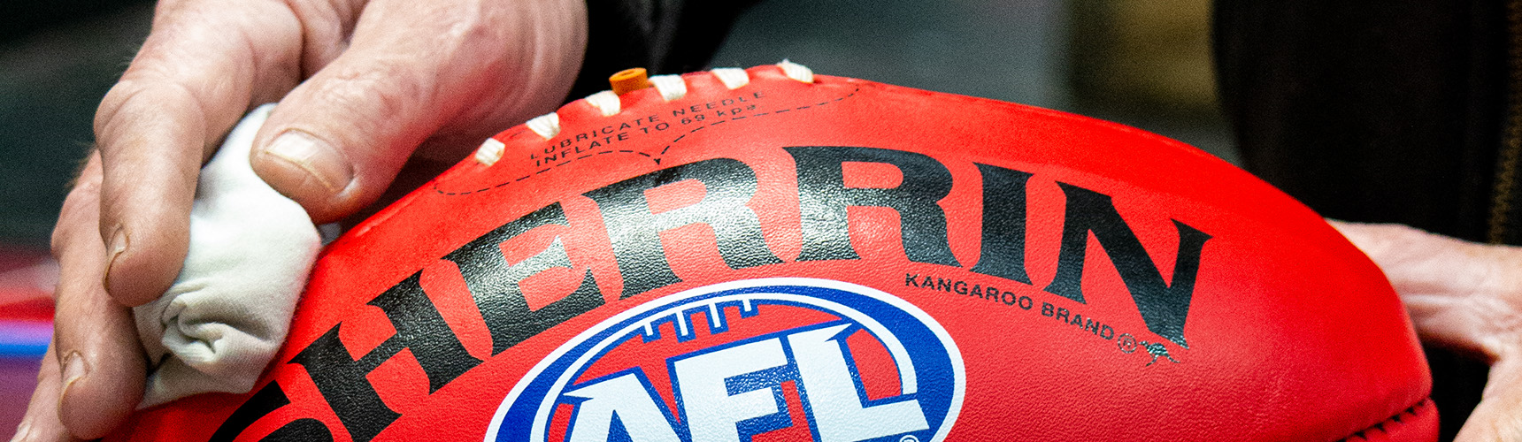 Maintenance & Care guide for your Sherrin football