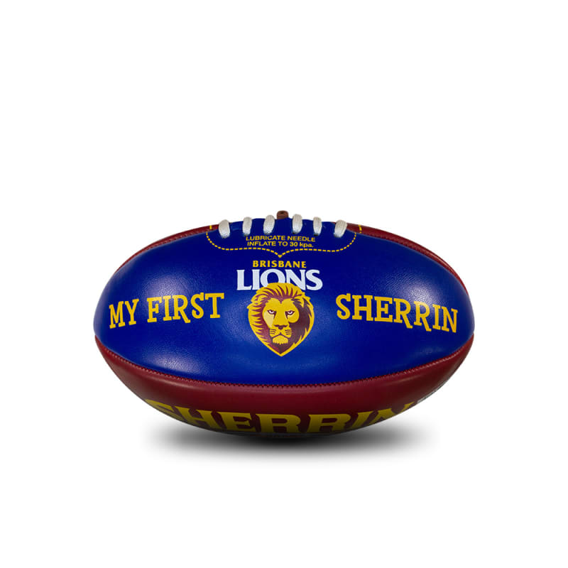 My First Sherrin - AFL Team - Brisbane Lions