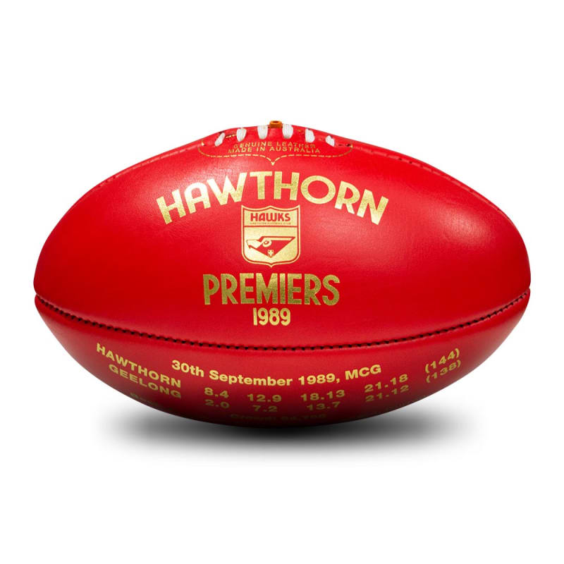 1989 Premiers Ball - Hawthorn Hawks