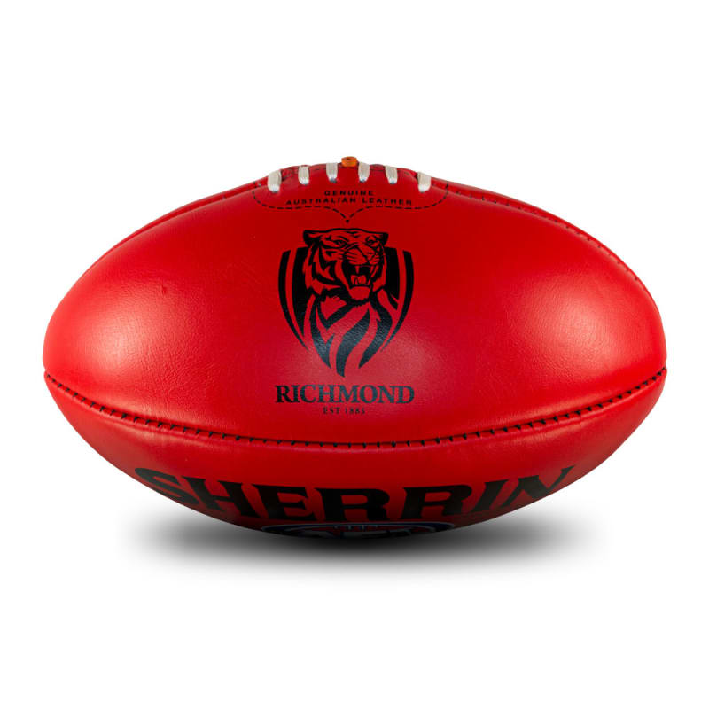 AFL Team Leather Ball - Richmond