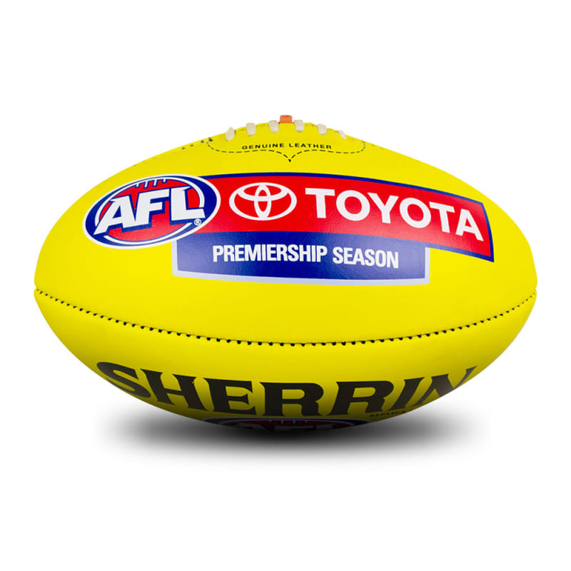 AFL Replica Game Ball - Yellow