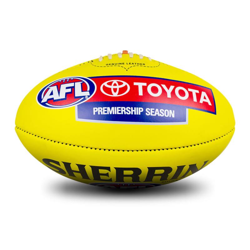 AFL Replica Game Ball - Yellow