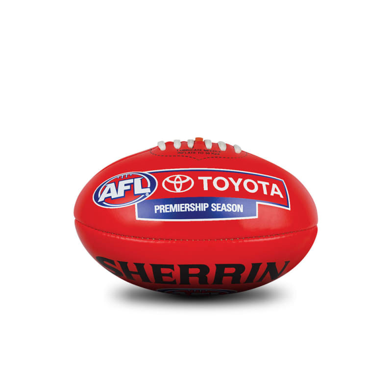 AFL Replica Mini Ball - Red