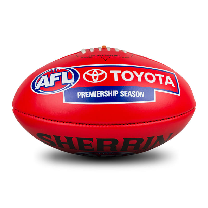 AFL Replica Game Ball - Red
