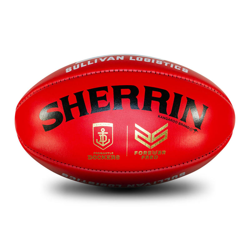 Fremantle Game Ball - Red