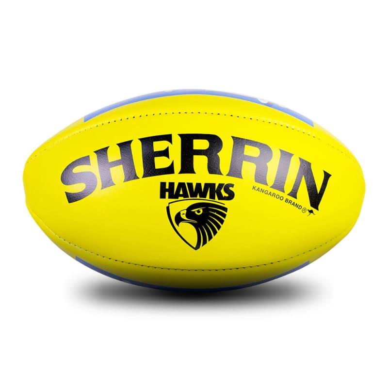 Hawthorn Game Ball - Yellow