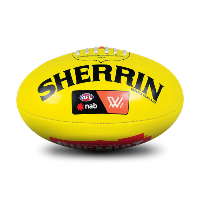 AFLW Replica PVC Ball - Yellow