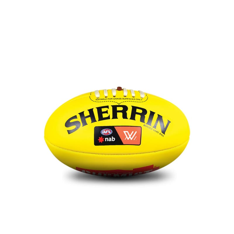 AFLW Replica Mini Ball - Yellow