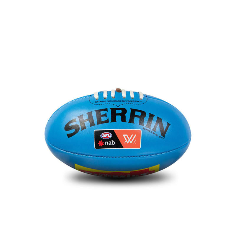 AFLW Replica Mini Ball - Blue