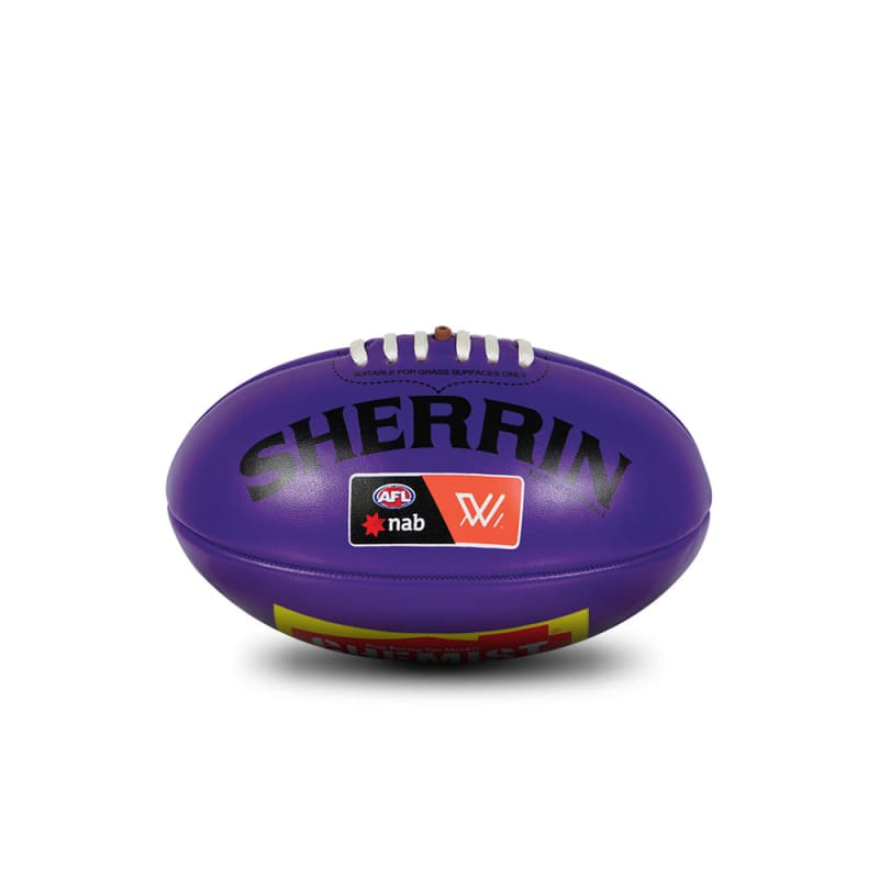 AFLW Replica Mini Ball - Purple