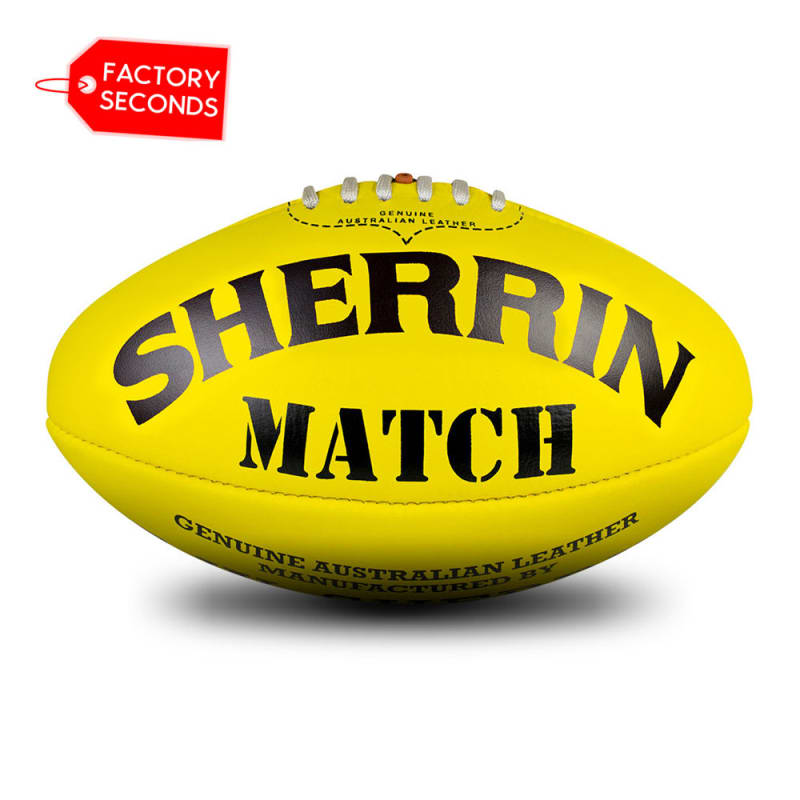 Match Seconds - Poly Yellow Size 5