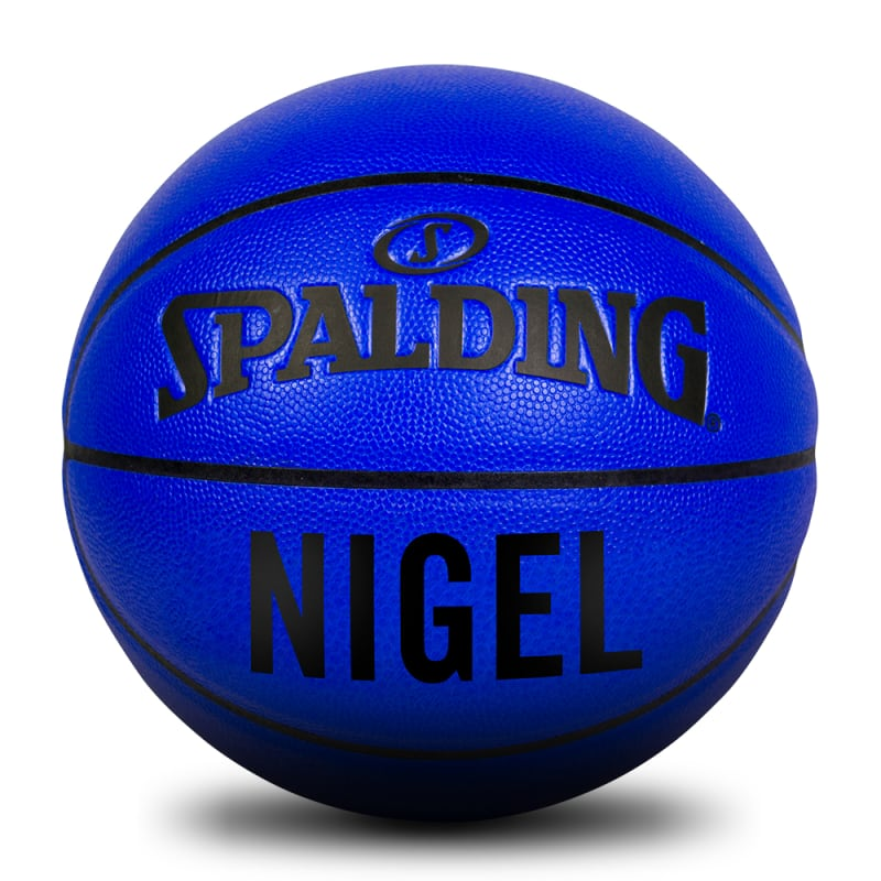 Personalised Ball - Grip Control - Blue