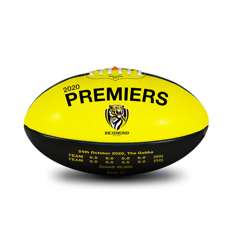 2020 Richmond Tigers Premiers Ball - Size 3
