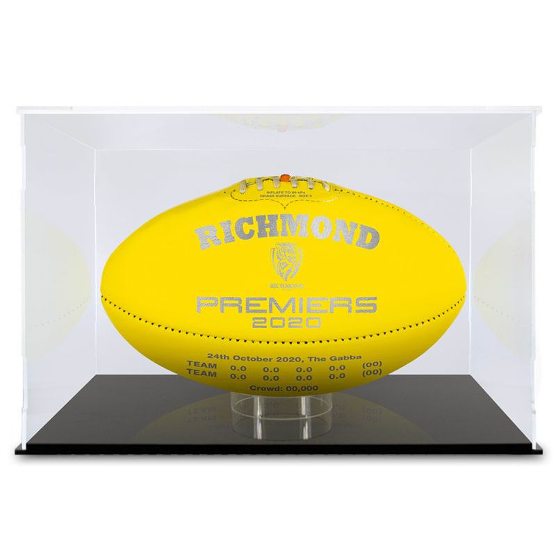 2020 Richmond Tigers Premiers Ball - Yellow