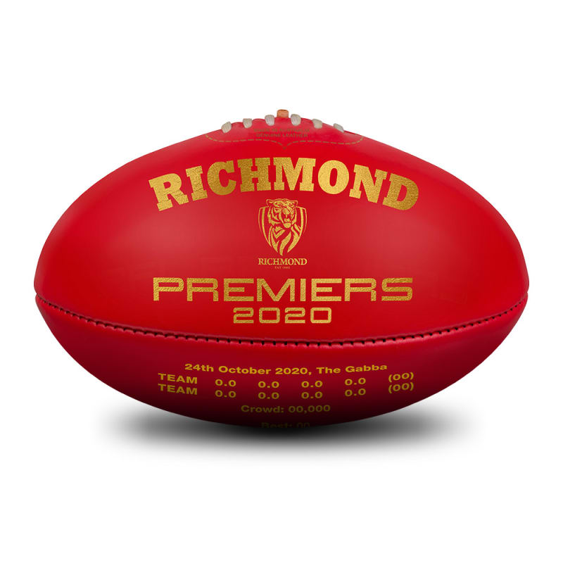 2020 Richmond Tigers Premiers Ball - Red