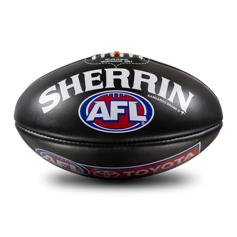 AFL Game Ball - Black