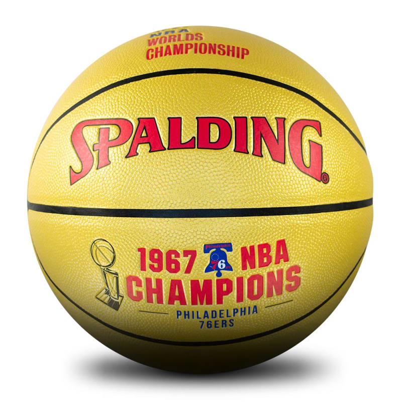 Philadelphia 76ers 1967 NBA Champions Ball