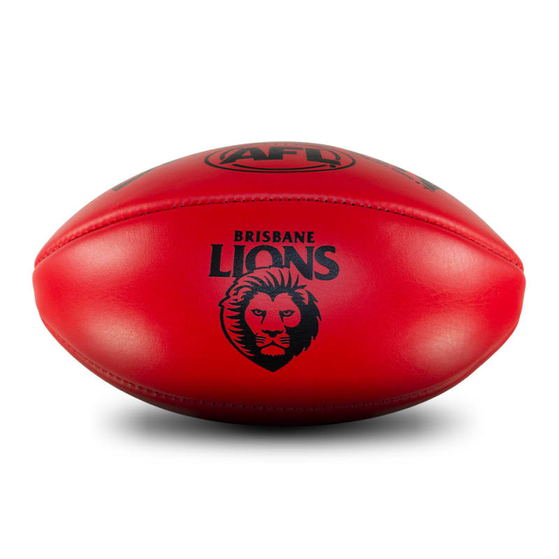 Personalised Leather KB Red - Brisbane Lions