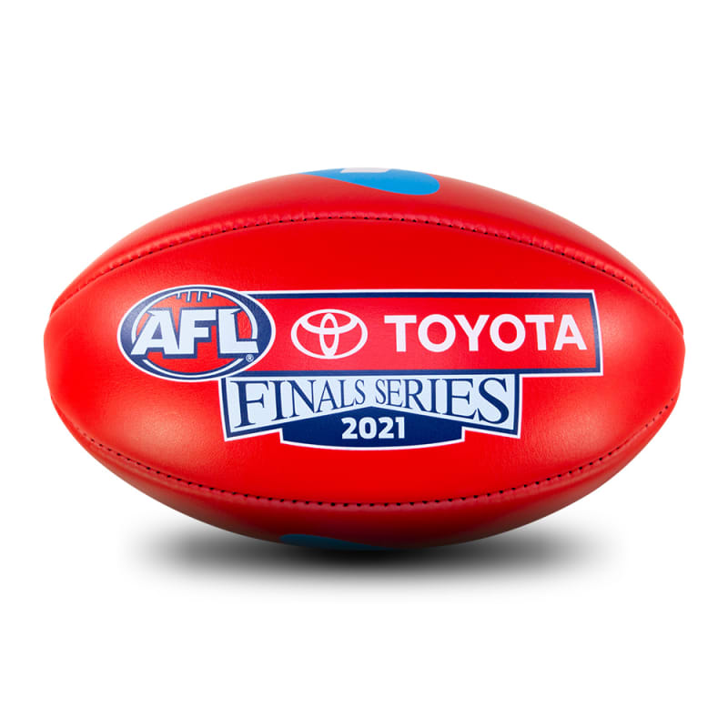 2021 Toyota AFL Finals Series Game Ball - Red