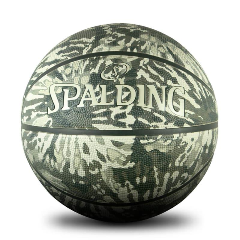 Black Tie-dye Outdoor Basketball