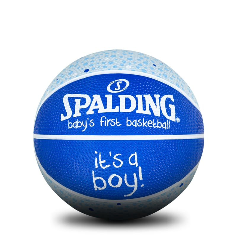 Baby's 1st Basketball - Size 1 - It's a Boy