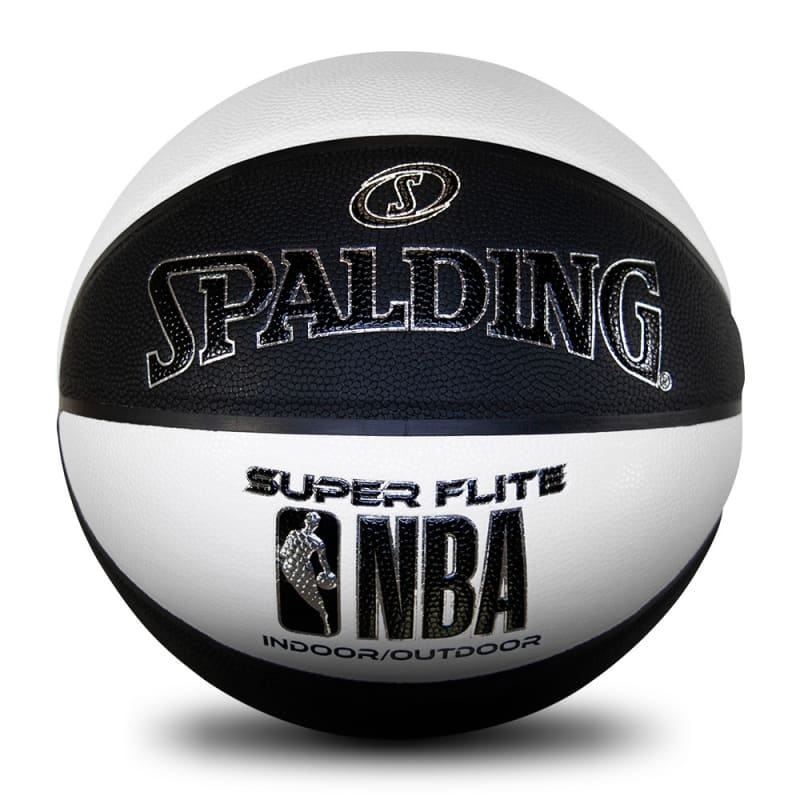 NBA Super Flite - Black & White - Size 7
