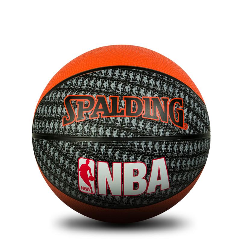 NBA MINI - Orange/Black - Size 3