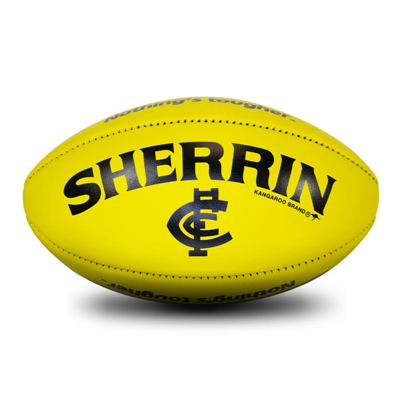 Carlton Game Ball - Yellow