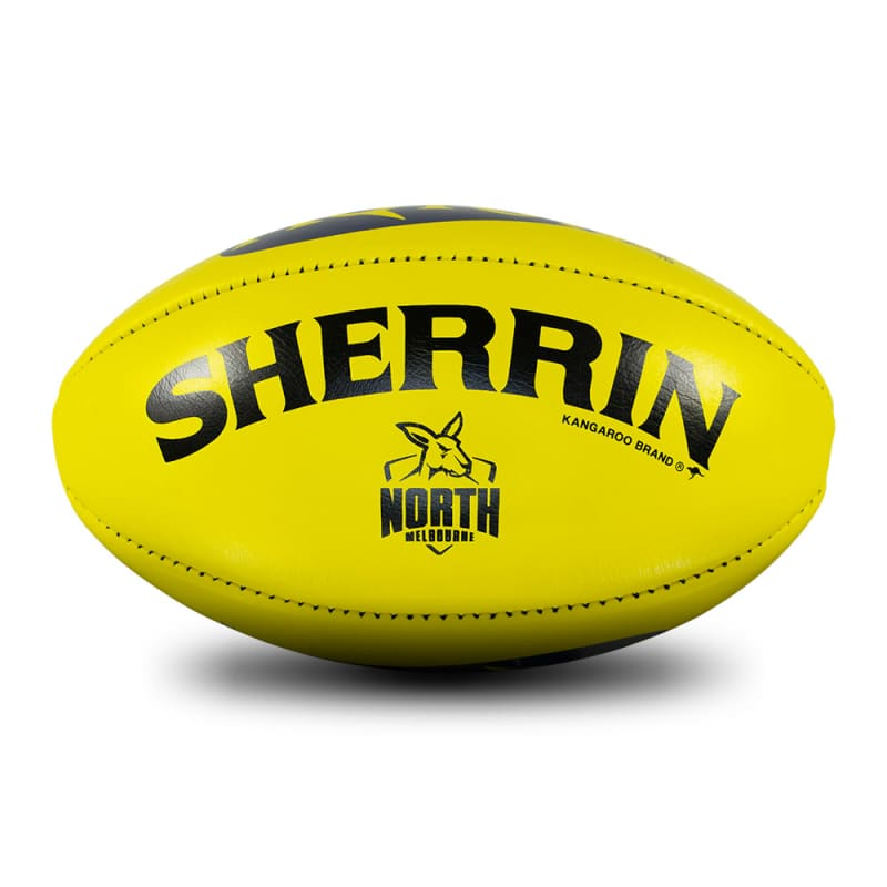 North Melbourne Game Ball - Yellow