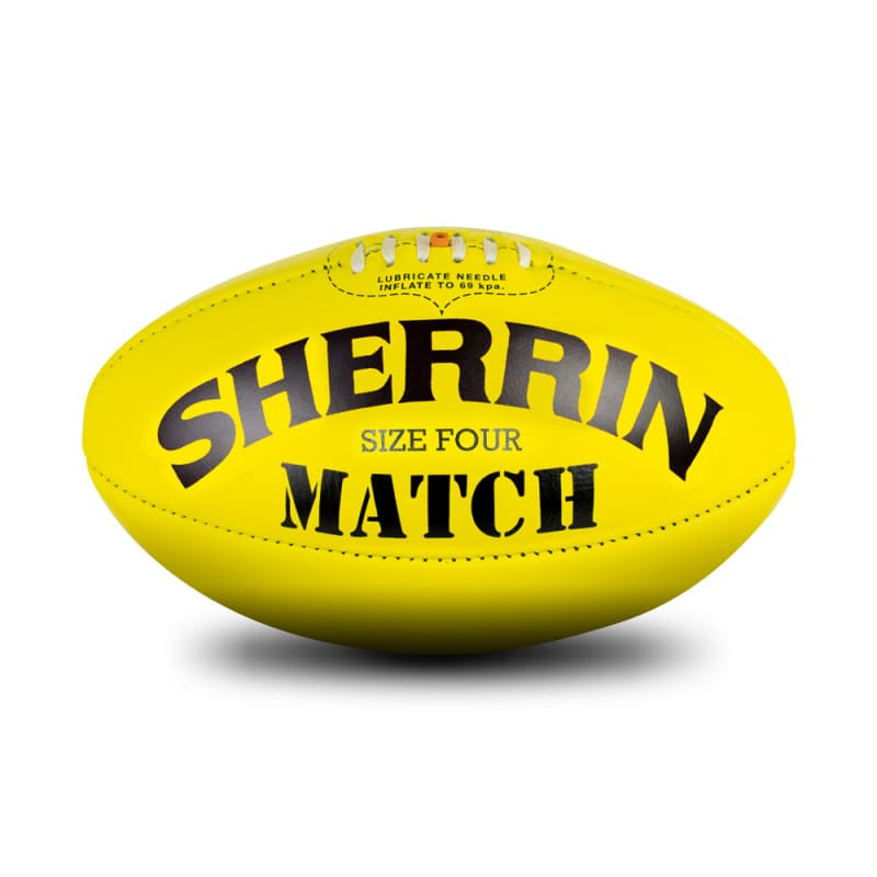 Match Game Ball - Yellow - Size 4