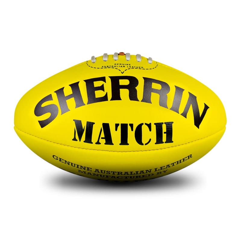 Match Game Ball - Yellow - Size 5