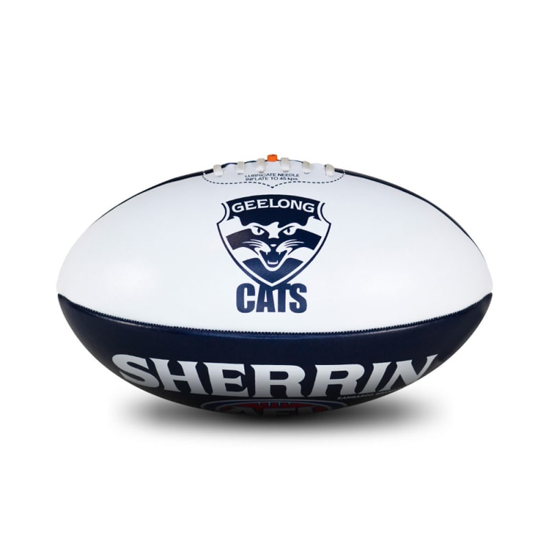 Personalised Geelong Ball - Size 3