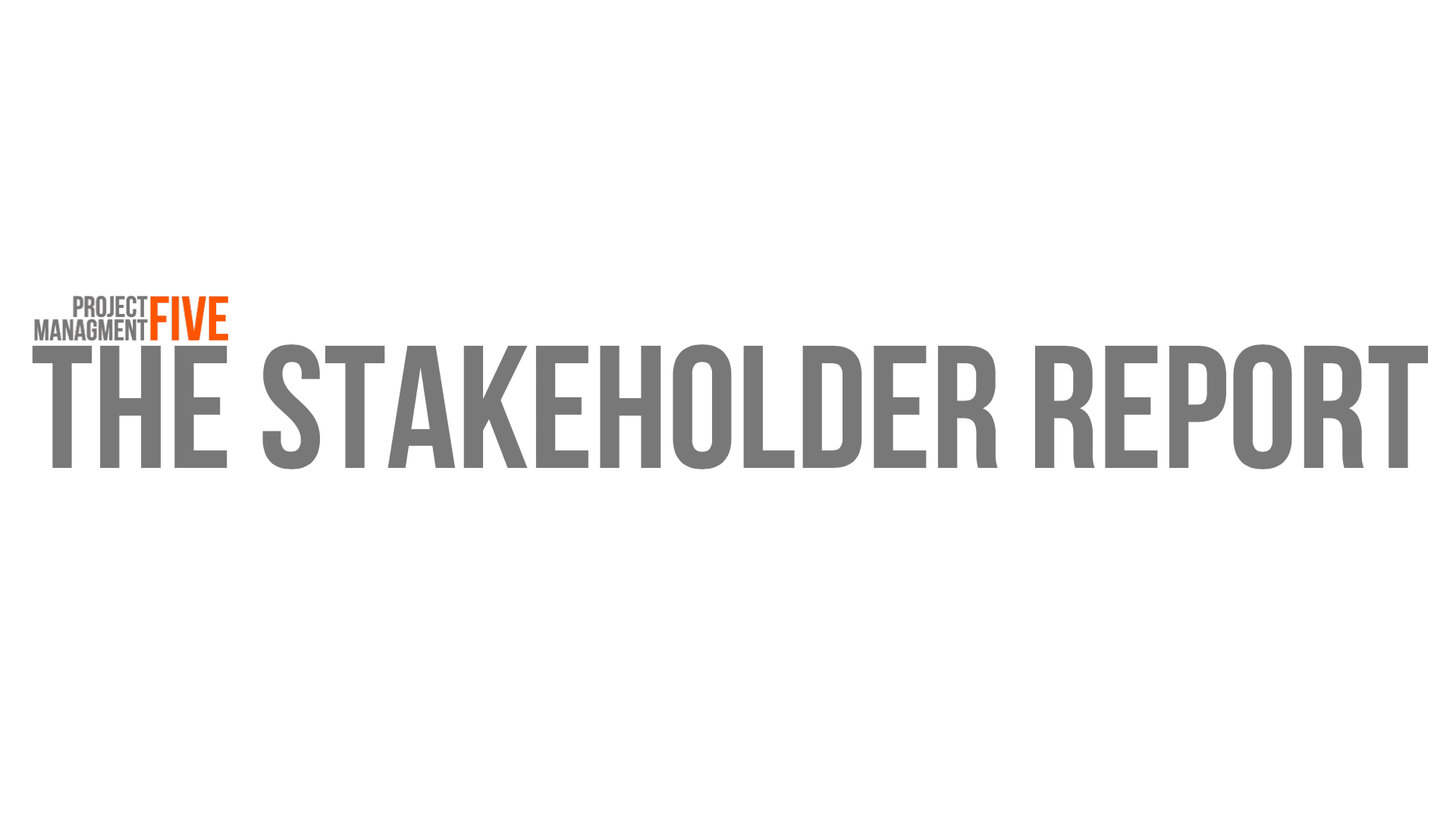 The Stakeholder Report, No. 14